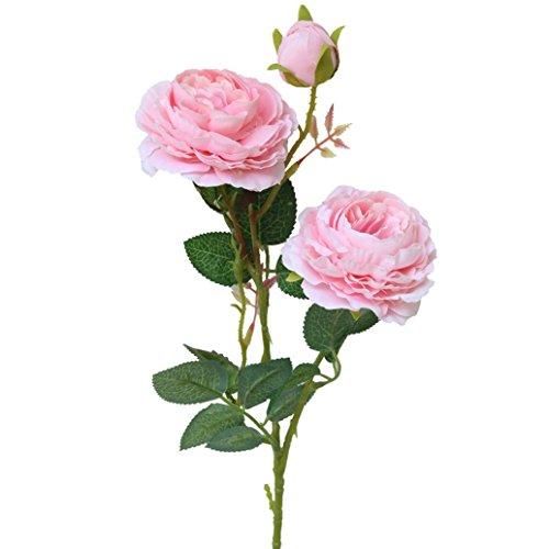 Vintage ramo de flores de peonia rosa de STRIR, artificiales, para bod