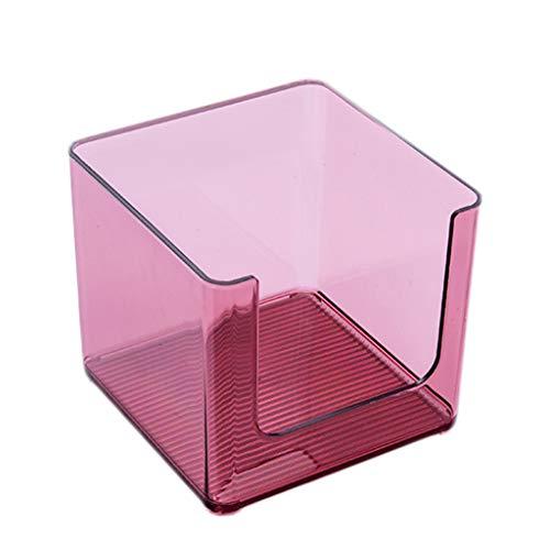 Coffret d'étalage Simple de Stockage de Produits de Soin de Peau de Bureau de cosmétique Acrylique Transparent de Bureau FANJIANI (Color : B, Size : 33 * 16.5 * 14.6cm)