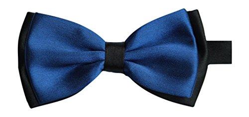 Sock Snob Nœud papillon pour homme en satin Bleu roi