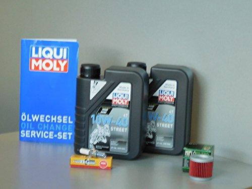 Kit de mantenimiento Suzuki UH 125 Burgman aceite filtro de aceite bujía servicio de inspección