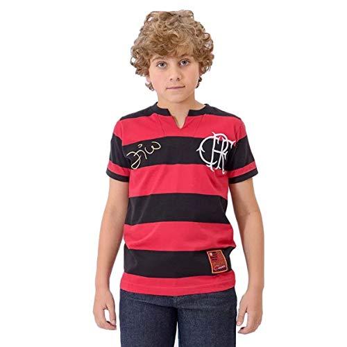 Camisa Infantil Flamengo Tri Zico -G