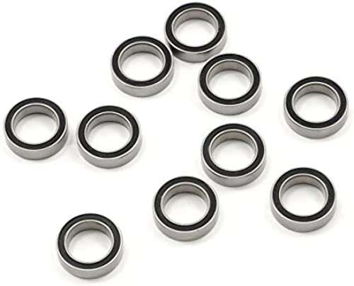 Protek 10X15X4mm Rubber Sealed Speed Wheel Bearings (10) 67002RS by Pro-Tek