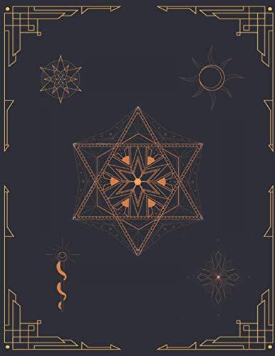 LIBRO DE HECHIZOS: Diario de registro y seguimiento de tus rituales, hechizos y conjuros | Grimorio, Magia blanca, Wicca, brujería... | Anota todos ... | Regalo especial para Iniciados.