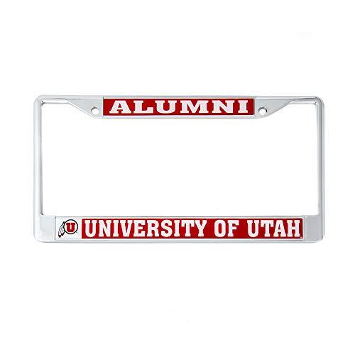 Desert Cactus University of Utah Alumni License Plate Frame For Front Back of Car Officially Licensed