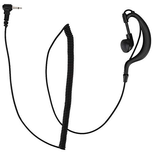 Mxzzand Auriculares cómodos compatibles con Gancho para la Oreja Auriculares portátiles en Forma de G Fuertes para la Venta al por Menor