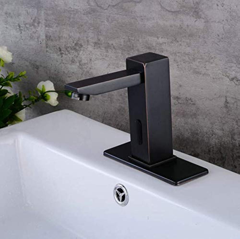 Dwthh Becken Wasserhahn Retro Schwarz Wasserhahn Wasserhhne Waschbecken Wasserhahn Einzigen Griff Loch Deck Vintage Waschen Hei Kaltmischbatterie Kran