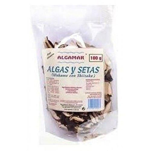Algamar Algas Y Setas Wakame-Shiitake 500 g