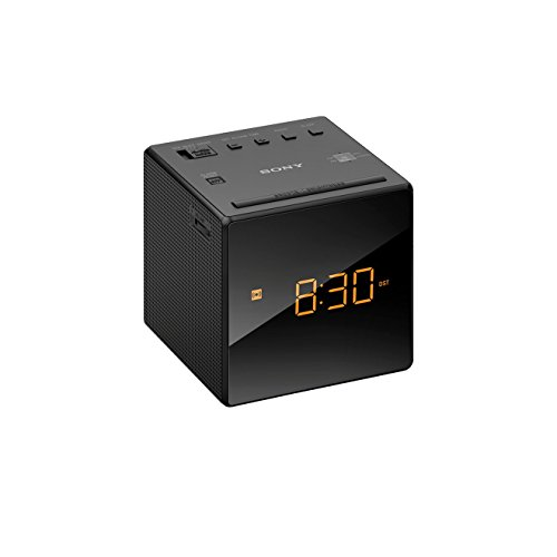 Sony ICF-C1B Uhrenradio (LED-Display, Alarm) schwarz