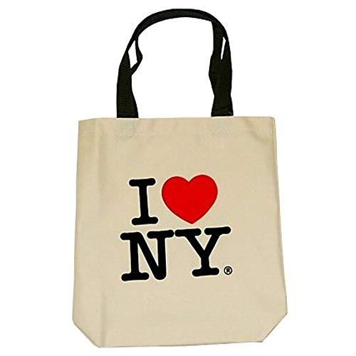 City-Souvenirs I Love New York Tragetaschen, Souvenirs, cremefarben
