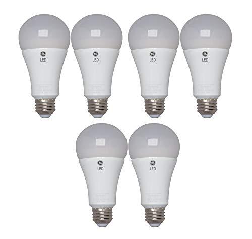 GE Lighting LED Light Bulb, 17 Watt (100-Watt Replacement), 1600-Lumen Medium Base, Soft White (6 Bulbs)