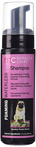 Miracle Coat Foaming Waterless Dog Shampoo 7 oz.