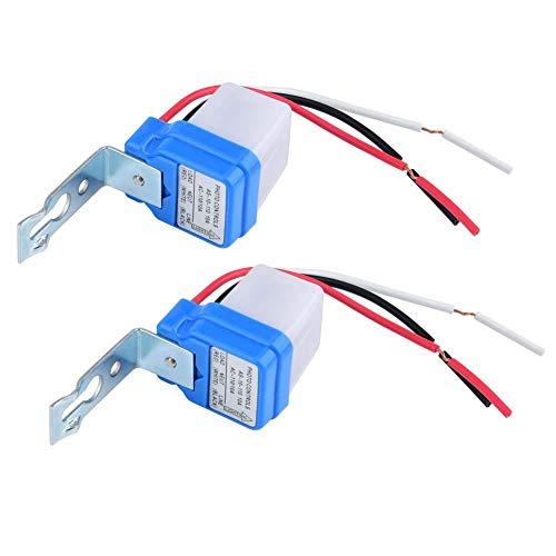 Sensor de control de luz Auto On/Off Interruptor automático de luz de...