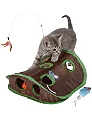 KINAZOHMO 猫 おもちゃ 猫おもちゃ 猫じゃらし ねずみ ボール ストレス解消 運動不足解消