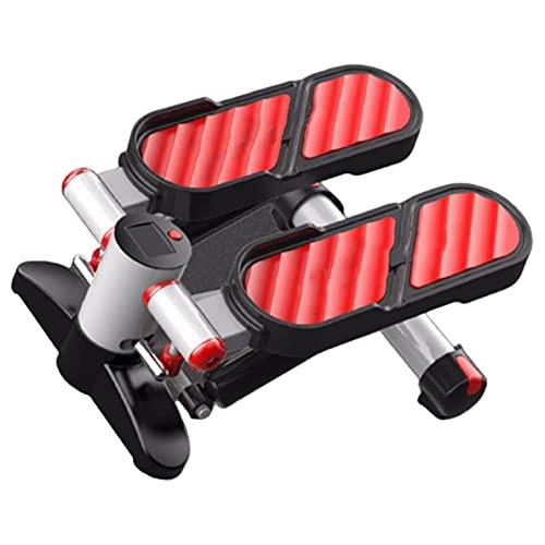Máquina elíptica para debajo del escritorio Ejercitador de pedales Mini bicicleta estática portátil con monitor digital LCD para gimnasio en el hogar y la oficina