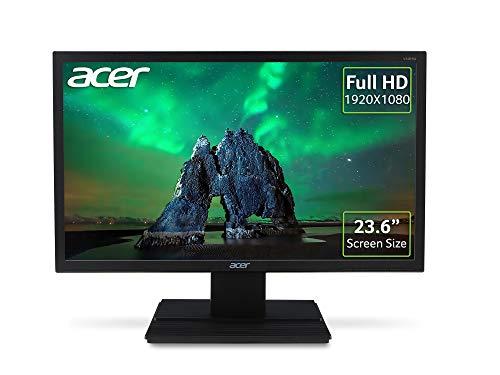 Acer V246HQL bi - LED monitor - 23.6' - 1920 x 1080 Full HD (1080p) @ 60 Hz - VA - 250 cd/m² - 3000:1 - 5 ms - HDMI, VGA - black