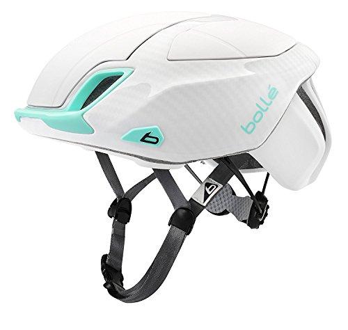 bollé The One Premium Cascos Ciclismo, Unisex Adulto, White/Mint, 54-58 Cm