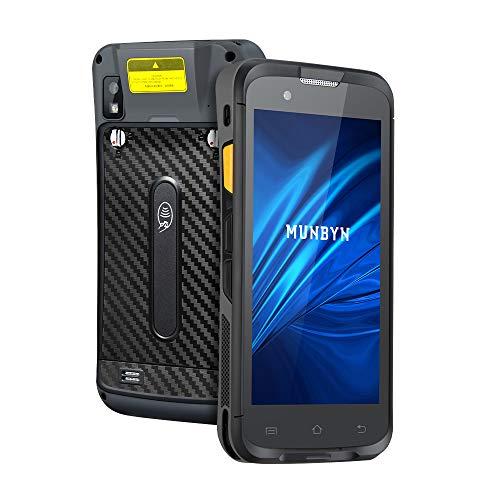 Android Barcode Scanner Terminal MUNBYN NFC 3G 4G WiFi Zebra SE4710 Bluetooth LTE GPS Kabellos Portable Mobile Data Kollektor 2D QR Scanner Leser Kamera Logistik Lieferung, Warehouse Warehaus IPDA053