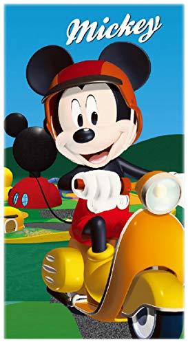 Toalla de baño infantil con diseño de Mickey Mouse