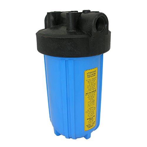 LASCO 37–2170P Gehäuse für Jumbo blau Wasser Filter mit 1weiblich Rohr Gewinde Einlass und Auslass