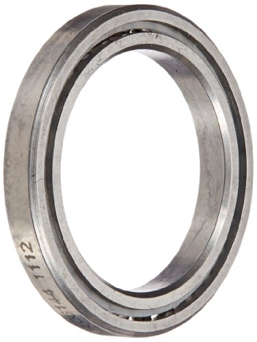 RBC SAA10AG0 Thin Section Ball Bearing, 440C Stainless Steel, Unsealed, Angular A-Type, 1
