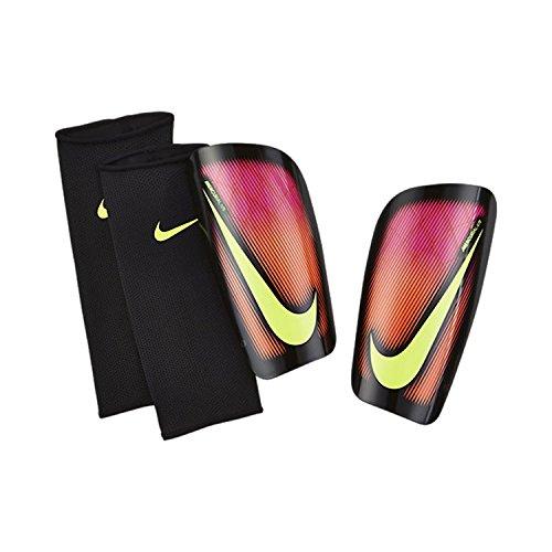 Nike Mercurial LITE - Schienbeinschutz Unisex, Rosa (pink Blast/Black/Volt), L