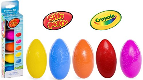 Silly Putty Eggs - 5 Pack