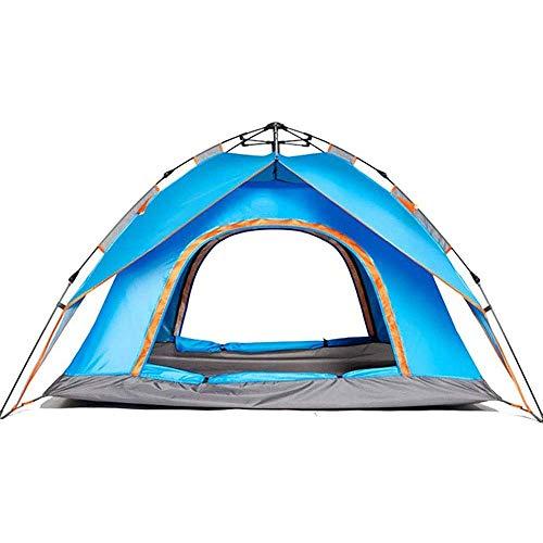 AYDQC Pop Up Beach Tent, fácil configuración de Peso Ligero Campaña de Pesca de Acampar de Doble Puerta Doble Capa Doble Refugio for Senderismo Escalada Playa Camping Picnic fengong