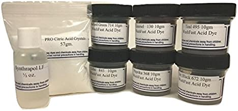 WashFast Royal Acid Dye Sampler
