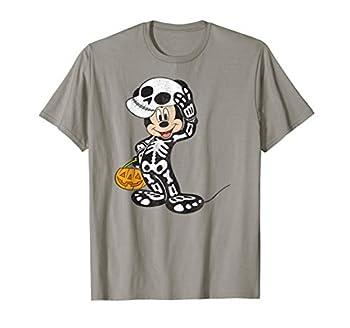 Disney Mickey Mouse Skeleton Costume T Shirt