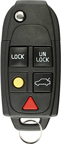 KeylessOption Keyless Entry Remote Control Uncut Blank Car Ignition Key Fob Replacement for LQNP2T-APU