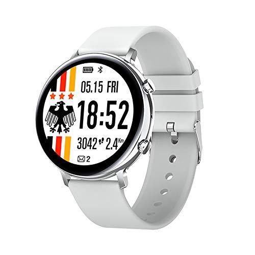 ZGZYL The New Smart Watch GW33 Masculino Y Femenino Bluetooth Llamada Smartwatch ECG Monitor Monitor Sleep Tracker IP68 Pulsera Inteligente Impermeable (para iOS Android),C
