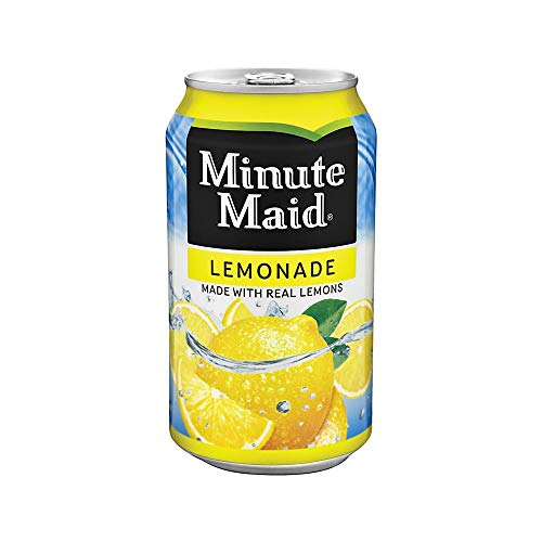 Minute Maid Lemonade 12 oz Cans - Pack of 24