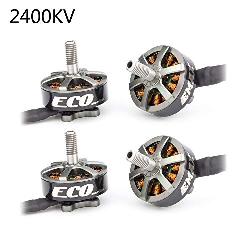 Makerfire Crazepony 4pcs Emax Eco 2306 2400KV 3-6S Motore Brushless per RC Drone FPV Racing