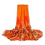 HEETEY Mode Strand Schal, Mode Frauen Chiffon Print lange weiche Wrap Schal Damen Schal Schal Sun Schal Schal Schal Strandtuch