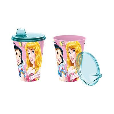 ALMACENESADAN 2137; Vaso Sipper Disney Princesas; 430 ml; Producto de plástico; Libre...