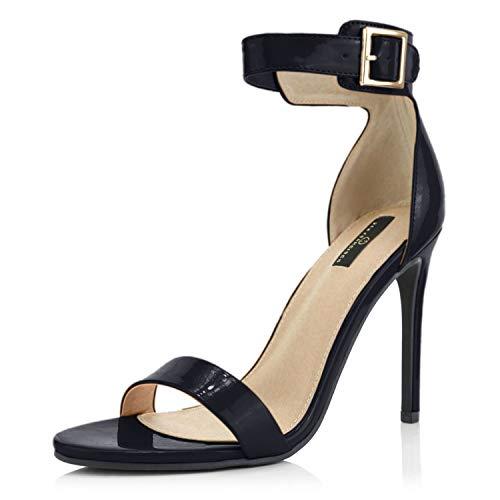DailyShoes Stilettos Heels High Heel Sandal Stiletto Buckle Ankle...