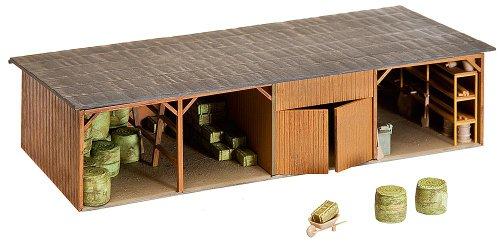 Faller 130523 - Heuballenlager mit Werkstatt