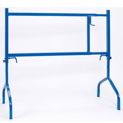 pro-bau-tec 2 Stück Gerüstbock, höhen und breitenverstellbar, 175 kg, blau, 2x10013