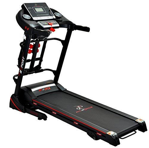 FIT-FORCE Cinta de Correr Plegable 2000W con masajeador,USB, Dos ...