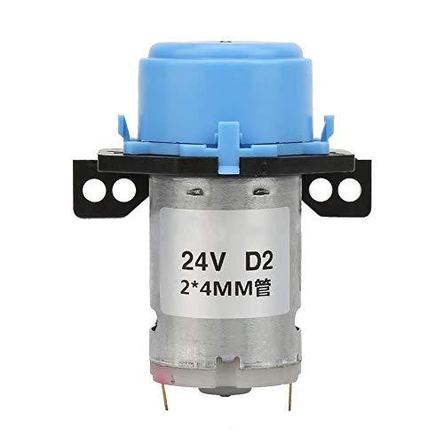 Bomba peristáltica Flujo grande DC24V Micro Bomba peristáltica líquida de agua para laboratorio de acuario analítico tubo de silicona 2 * 4 mm(蓝色)