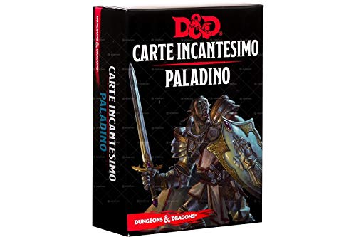 Asmodee Italia- Dungeons & Dragons 5a Karten Incantesimo Paladino, Colore, 4009