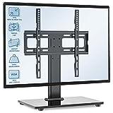 RFIVER Supporto TV da Tavolo Universale Girevole Stand Regolabile in Altezza Supporto Pied...