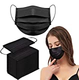 50pcs Black Disposable Face Shield Filter For Protection Mouth Shields...