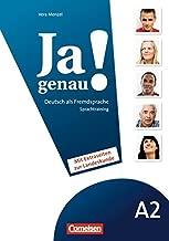 JA Genau!: Sprachtraining Daf A2 (German Edition)