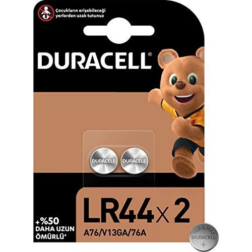 Duracell Specialty LR44 Alkali-Knopfzelle 1,5V, 2er-Packung (76A/A76/V13GA)