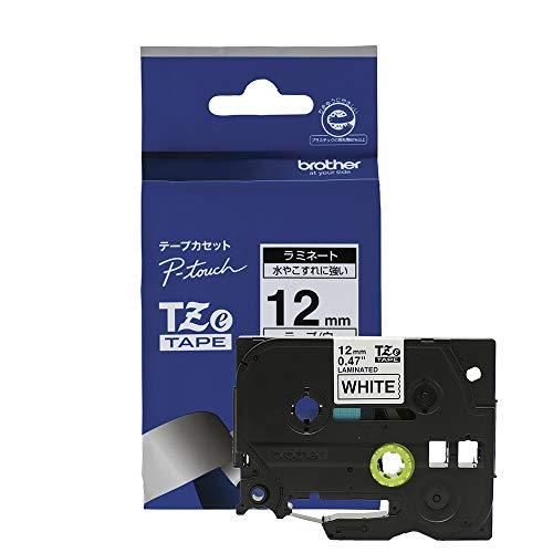 ピータッチ ラミネートテープ 白ラベル TZe-231 [黒文...