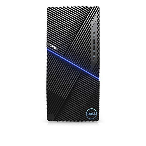 Dell G5 Tower 5090 Gaming Desktop (Black), Intel Core i5-9400, 8GB DDR4, 256 SSD + 1TB HDD, Nvidia GeForce GTX 1660 Ti 6GB GDDR6, Windows 10 Home