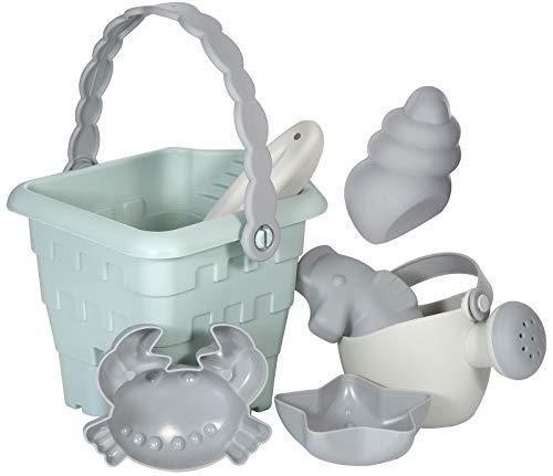 Kindsgut Sand-Spielzeug, aus leichtem Material und ideal für Kleinkinder und unterwegs, in dezenten Farben und schönen Formen, Tilda