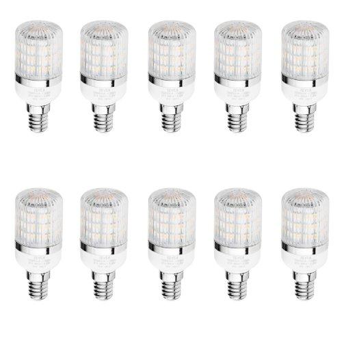 TEVEA Confezione da 10 Pezzi E14 LED Lampadina Bianco Caldo 2.5W 230V Sostituzione 25W Set