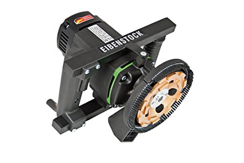 CS Unitec EBS 1802.1 Low-Vibration Hand-Held Ginder, 5' Diameter, 16 AMP, with Dust Extraction